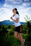 Γυναίκα Jogging στοκ εικόνα
