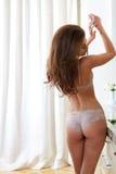 Γυναίκα lingerie Στοκ Εικόνες
