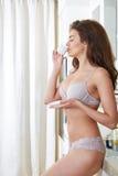 Γυναίκα lingerie Στοκ Εικόνα