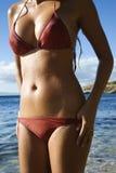 γυναίκα Maui παραλιών Στοκ Εικόνες