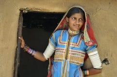 Γυναίκα Rajasthani Στοκ Εικόνες