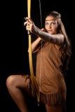 γυναίκα sagittarius Στοκ εικόνες με δικαίωμα ελεύθερης χρήσης