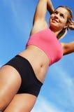 γυναίκα workout Στοκ Εικόνες