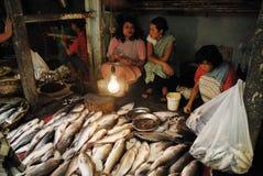 γυναίκες αγοράς της Ινδί&a Στοκ Φωτογραφίες