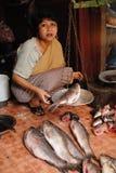 γυναίκες αγοράς της Ινδί& Στοκ Φωτογραφία