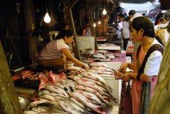 γυναίκες αγοράς της Ινδί&a Στοκ εικόνες με δικαίωμα ελεύθερης χρήσης