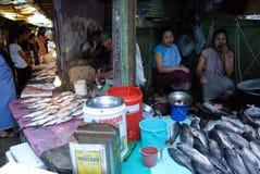 γυναίκες αγοράς της Ινδί&a Στοκ εικόνα με δικαίωμα ελεύθερης χρήσης