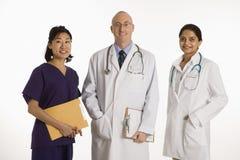 γυναίκες ανδρών γιατρών Στοκ Εικόνες