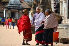 Γυναίκες από το Νεπάλ Στοκ εικόνες με δικαίωμα ελεύθερης χρήσης