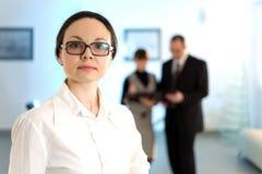 γυναίκες γυαλιών στοκ φωτογραφίες