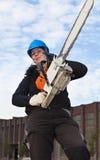 γυναίκες εργαζόμενος α Στοκ εικόνα με δικαίωμα ελεύθερης χρήσης