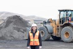 γυναίκες εργαζόμενος κατασκευής Στοκ Εικόνες