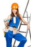 γυναίκες εργαζόμενος κ Στοκ εικόνα με δικαίωμα ελεύθερης χρήσης
