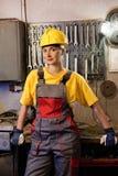 γυναίκες εργαζόμενος &epsilo Στοκ φωτογραφία με δικαίωμα ελεύθερης χρήσης