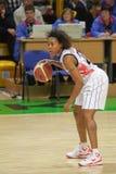 γυναίκες καλαθοσφαίρισης euroleague Στοκ Φωτογραφίες