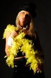 γυναίκες καπέλων Στοκ φωτογραφία με δικαίωμα ελεύθερης χρήσης