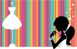 γυναίκες καταστημάτων ελεύθερη απεικόνιση δικαιώματος