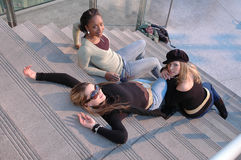 γυναίκες μόδας Στοκ φωτογραφία με δικαίωμα ελεύθερης χρήσης
