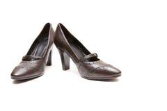 γυναίκες παπουτσιών ζευγαριού Στοκ φωτογραφία με δικαίωμα ελεύθερης χρήσης