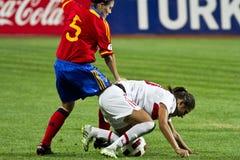 γυναίκες ποδοσφαίρου Στοκ Φωτογραφίες