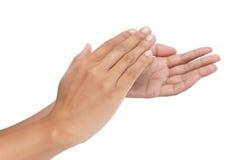 Γυναίκες που χτυπούν τα χέρια Στοκ φωτογραφίες με δικαίωμα ελεύθερης χρήσης