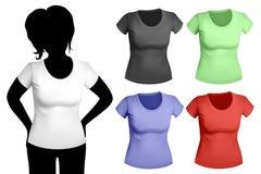 γυναίκες προτύπων πουκάμ&io Στοκ εικόνες με δικαίωμα ελεύθερης χρήσης