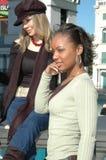 γυναίκες πόλεων Στοκ εικόνα με δικαίωμα ελεύθερης χρήσης