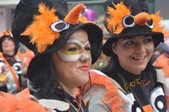 Γυναίκες σε καρναβάλι Στοκ Εικόνα