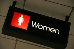 γυναίκες σημαδιών Στοκ Εικόνες