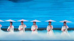 """Γυναίκες στη δύση λίμνη-Kunqu Opera""""Madame άσπρο Snake† Στοκ Εικόνες"""