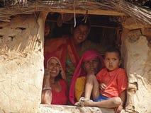 γυναίκες της Ινδίας Jaipur Στοκ Φωτογραφία