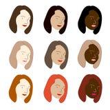 Γυναίκες του κόσμου Στοκ εικόνα με δικαίωμα ελεύθερης χρήσης