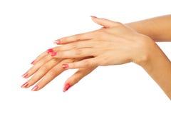 γυναίκες χεριών s Στοκ εικόνες με δικαίωμα ελεύθερης χρήσης