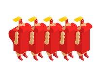 Γυναίκες χορωδιών οπερών Όμορφη κυρία Artist των τραγουδιών Διανυσματικό Illust διανυσματική απεικόνιση