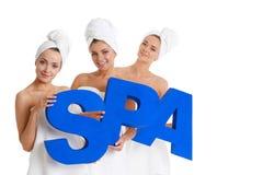 Γυναίκες SPA Στοκ φωτογραφία με δικαίωμα ελεύθερης χρήσης