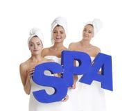 Γυναίκες SPA Στοκ εικόνες με δικαίωμα ελεύθερης χρήσης