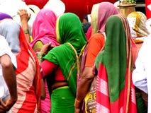 γυναίκες warkari στοκ φωτογραφία με δικαίωμα ελεύθερης χρήσης