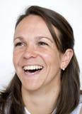 γυναικεία γέλια Στοκ φωτογραφίες με δικαίωμα ελεύθερης χρήσης