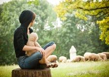 γυναικεία διάταξη θέσεων Στοκ φωτογραφίες με δικαίωμα ελεύθερης χρήσης