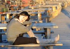 γυναικεία ηλιοφάνεια Στοκ εικόνα με δικαίωμα ελεύθερης χρήσης