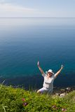 γυναικεία θάλασσα Στοκ Εικόνες