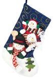 γυναικεία κάλτσα Χριστ&omicron Στοκ εικόνες με δικαίωμα ελεύθερης χρήσης