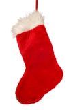 γυναικεία κάλτσα Χριστ&omicron στοκ φωτογραφία με δικαίωμα ελεύθερης χρήσης