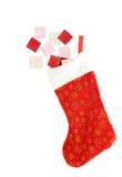 γυναικεία κάλτσα Χριστ&omicron στοκ φωτογραφίες
