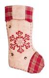 Γυναικεία κάλτσα Santa στοκ φωτογραφία με δικαίωμα ελεύθερης χρήσης