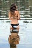 γυναικεία λίμνη Στοκ Εικόνες