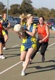 Γυναικεία παιχνίδια ένωσης Korfball Στοκ Εικόνα