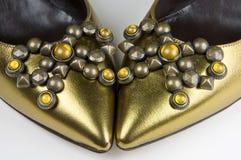 γυναικεία σύγχρονα s παπούτσια Στοκ Εικόνα
