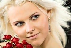 γυναικεία τριαντάφυλλα Στοκ Εικόνες