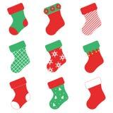 Γυναικείες κάλτσες διακοπών Στοκ Εικόνα